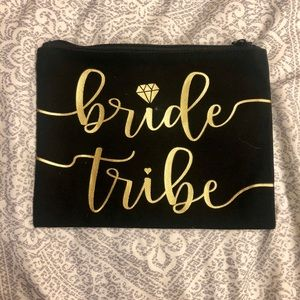 Bride Tribe Getting Ready Accessory or Makeup Bag!